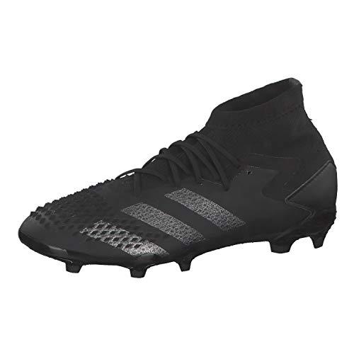 adidas Predator MUTATOR 20.1 FG J, Zapatillas Deportivas, Core Black/Core Black/Night Met, 33 EU
