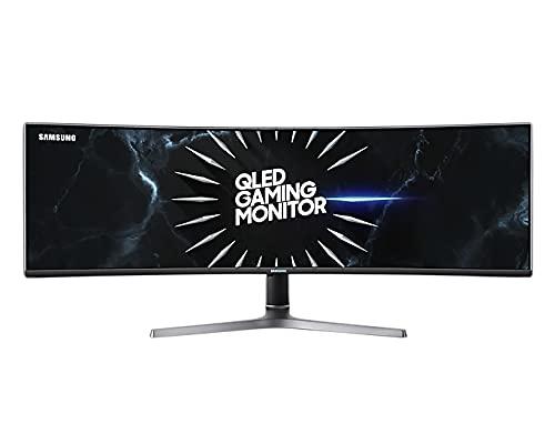 Samsung C49RG94SSR 124,20 cm (49 Zoll) Curved Gaming Monitor (5120 x 1440 Pixel, Dual WQHD 32:9 Format, 120Hz, 4ms) schwarz