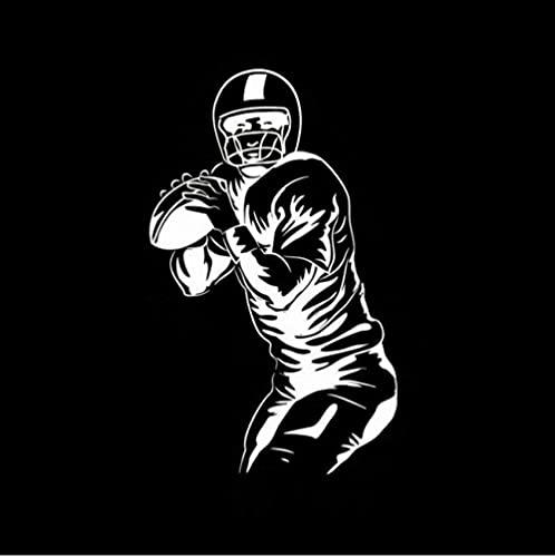 erjhvbshjdklffg 5 stücke 7,2 cm * 11,8 cm Sport Rugby Auto Aufkleber Vinyl Aufkleber Aufkleber Motorrad Dekoration Zubehör