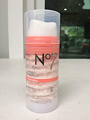 No7 Nourishing Hydration Mask 100ml Dry/ Very Dry Intense Moisture Boost by boots