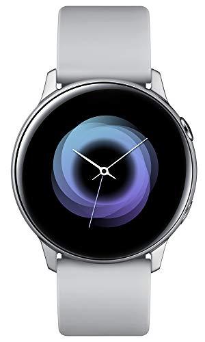 """Samsung Galaxy Watch Active Smartwatch Silber SAMOLED 2.79cm (1.1"""") GPS (Satellite) Galaxy Watch Active, 2.79cm (1.1""""), SAMOLED, Touchscreen, GPS (Satellit), 25g Silber"""
