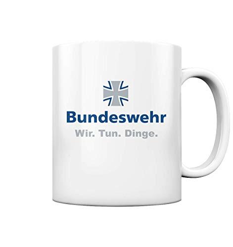 Wir Tun Dinge Bundeswehr Tasse