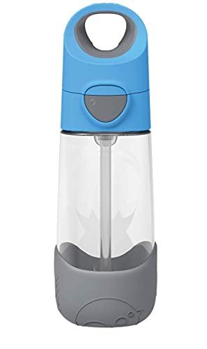 【2021年新発売】[b.box] Tritan drink bottle 450ml 食洗機OK トライタンドリンクボトル 450ml [ ストロー付きタンブラー 軽量 ボトル 直飲み 水筒 食洗機対応 ハンドル付き ワンタッチ ] キッズ・女の子・男の