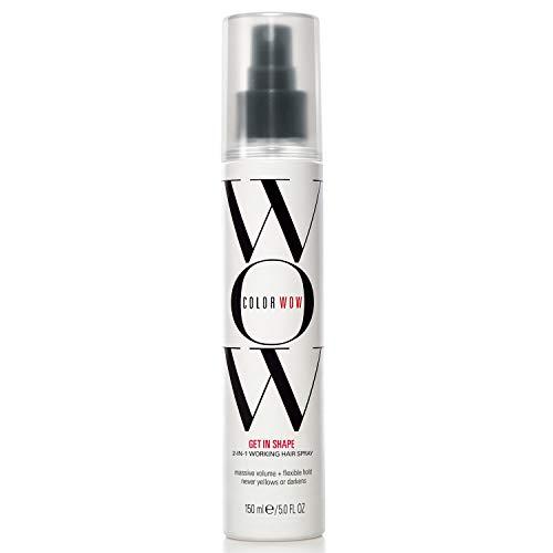 COLOR WOW - Get In Shape 2 in 1 Haarspray 150ml - Haarspray für flexiblen Halt, mehr Volumen und Glanz beim Styling der Haare - für kraftvolles und gesundes Haar