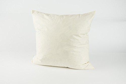 beties Schwarzfischer Kissenfüllung, Baumwolle, Weiß, 40 cm x 40 cm