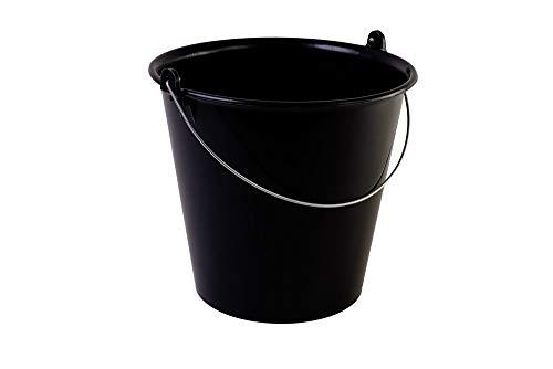 metakreon Eimer 10 L rund mit Metallbügel - Recycling - Skalen-Eimer - Kunststoff