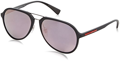 Prada SPORT Sun GREY RUBBER WITH DARKGREYMIRRORPINK
