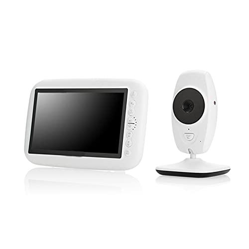 OIHODFHB Baby Monitor, with Screen, 720P High-Definition Wireless Baby Monitor, Home Wireless Monitoring, Support 2 Cameras, Intercom, Night Light