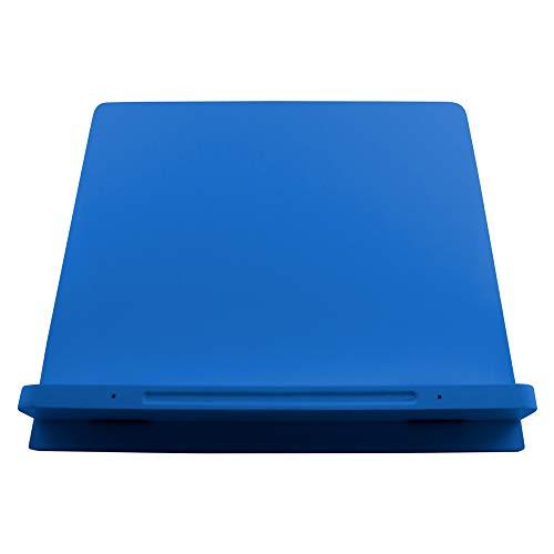 Suporte para Notebook e Livro Marca Fácil - Aquarius, Azul