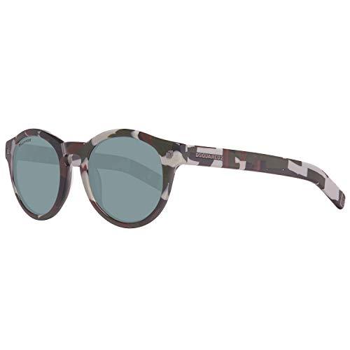 DSQUARED2 Sonnenbrille Dq0188 98a 48 Occhiali da Sole, Multicolore (Mehrfarbig), 48.0 Unisex-Adulto