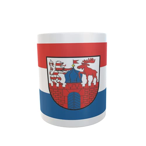 U24 Tasse Kaffeebecher Mug Cup Flagge Neustadt (Dosse)