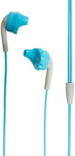 Yurbuds (CE) Inspire 100 Noise Isolating In-Ear Headphones, Aqua