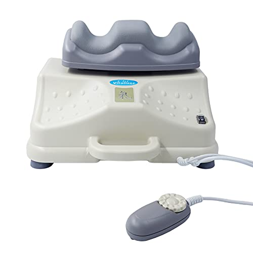 chi-enterprise Chi Vitalizer Basic Chi-Massage-Gerät I sehr einfache Handhabung & besonders leise I weich gepolsterte Fuß-Auflage I vitalisierende Chi-Maschine mit Drehknopf I Qualitäts-Chi-Gerät