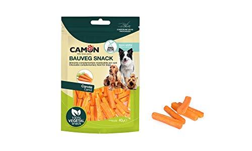 Bauveg Snack vegetali alle Carote per Cani Carotine Crispy 40g