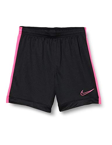 Nike Kinder Dri-Fit Academy Shorts, Black/Hyper Pink/Hyper Pink, L