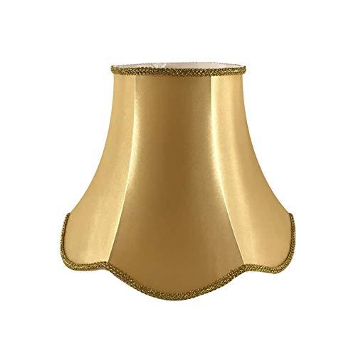 SACYSAC Pantalla de Tela del Palacio, Onda de Encaje a Mano Encaje Retro Dormitorio Sala de Estar lámpara lámpara,A