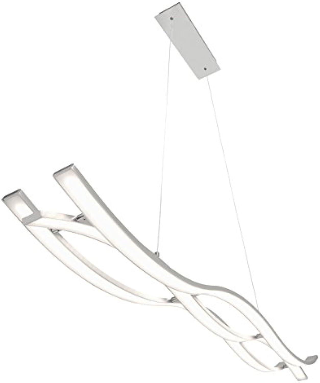 Briloner Leuchten LED Pendelleuchte, dimmbar, Hngelampe, Hngeleuchte, Wohnzimmerlampe, Pendel, LED Pendelleuchte, Esszimmerlampe, Esstischlampe, Pendelleuchte Esstisch, Pendellampe