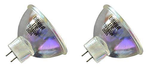 2pcs EFR 15V 150W RM-107 Donar Bulb for Olympus ILK2 ILK5 LGR LGW MD151 OCS OCS2 OCS3 Operating Microscope ILK3 CLE3 CLE4 CLE4U CLE5 CLEF10 CLH2 CLK13 CLK3 CLK4 23287 32150 32650 32850 58102 Lamp