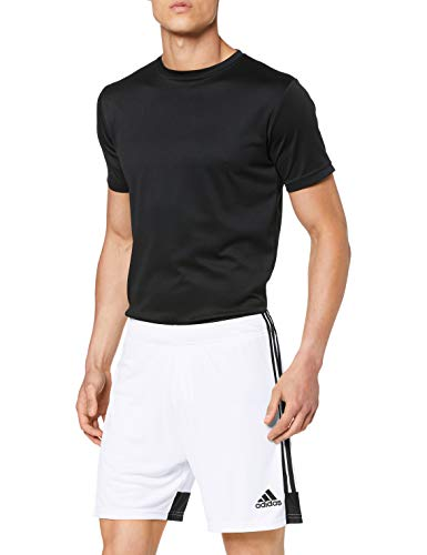 adidas Tastigo19 SHO, Pantaloncini Sportivi Ragazzi, Bianco/Nero, 11-12