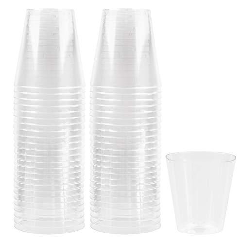 2 oz plastic shot glasses