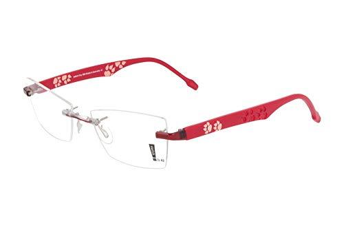 switch it Garnitur Combi 2315A Wechselbügel Montur in der Farbe rot, Tatzendruck innen und außen