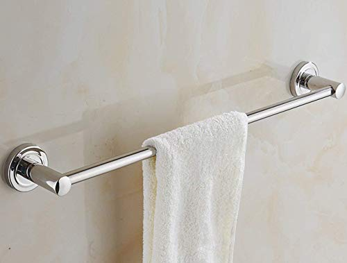 DNSJB - Toallero de acero inoxidable avanzado para baño (tamaño: 80 cm)