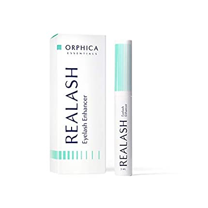 ORPHICA REALASH Acondicionador de pestañas, serum para crecimiento de pestañas fuertes, voluminosas y largas, 3 ml