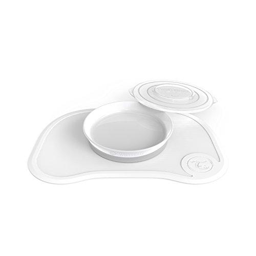Twistshake 78137 - Juego de vajilla, color blanco