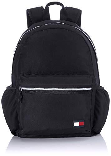 Tommy Hilfiger Unisex-Kinder Kids Core Backpack Rucksack Schwarz (Black)