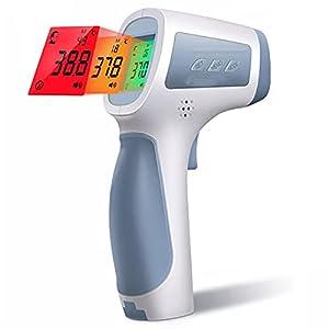 Termometro A Infrarossi, Termometro Digitale IR Fronte Senza Contatto, Pistola Di Misurazione Della Febbre Del Corpo, Per Bambino, Adulto, Scuole, Ospedali