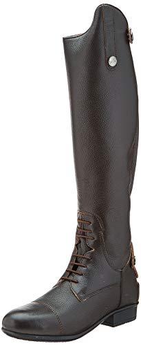 Equi-Theme/Equit'M 918121236 Primera Grained Leather, Stivali Alti Unisex-Adulto, Marrone, Taglia 36