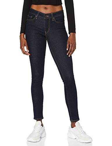 Levi's Damen 711 Skinny Jeans, To The Nine, 26W / 32L