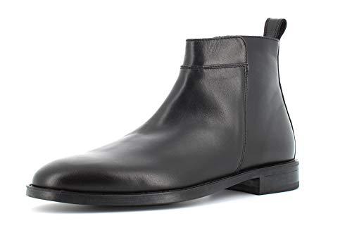 ANTICA CUOIERIA Heren Schoenen Enkellaarzen 20986-C-VA6 Colorado Maat 44 Zwart