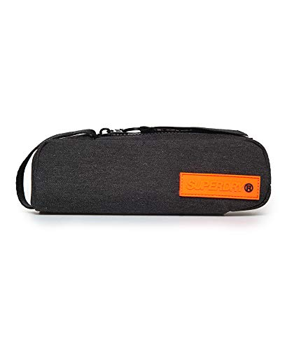 Superdry Mäppchen HOLLOW PENCIL CASE Charcoal, Size:ONE SIZE