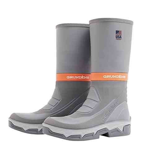 Grundens DECK-BOSS Boot   Durable, Waterproof, Grey, M 9