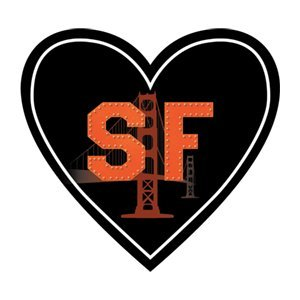 California Sticker 'Sf' San Francisco Heart Shaped Decal Vinyl Waterproof Label Apply Decal To Water Bottle Laptop Cooler Car 415