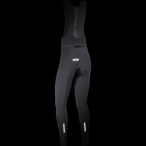 GORE Wear Atmungsaktive Damen Trägerhose, Mit Sitzpolster, C3 Women Thermo Bib tights+, 34, Schwarz, 100329 - 4