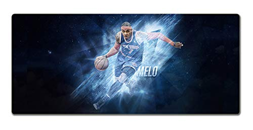 SMAIGE XXL Extended Gaming Mouse Mat / Pad - Large / Wide Mousepad with Stitched Edges | 35.4'x15.7'x0.12' Dimensions (Anthony)