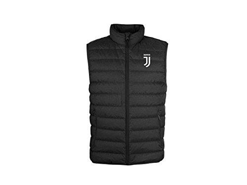 Juventus Smanicato Piumino Uomo Adulto Juve Ufficiale Leggero Giubbotto Giubbino Giubbetto Giacca JVSS18 (cm:Spalle 43,Torace 50,lungh.65-S)