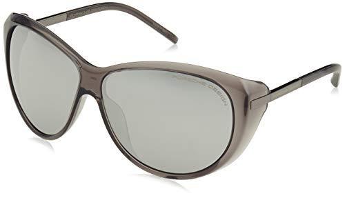 Porsche Design Sonnenbrille P8602 A 64 11 115 Cateye Sonnenbrille 64, Schwarz