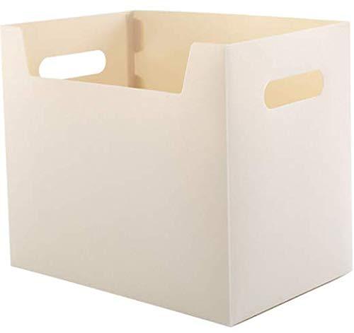 Gesichts-Aufbewahrungsbox-Plastikkarton-einfaches Büro-Vollenden-Kasten-Weiß 29 * 20 * 25Cm