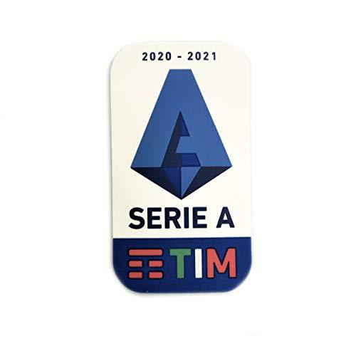Footex Stilscreen Patch Badge Serie A Tim Maglia Lega Calcio Ufficiale GOMMINA Originale Genuine 2020/21