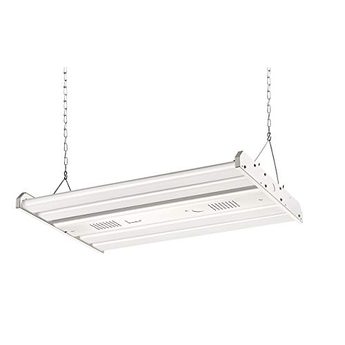 ELECALL LED Linear High Bay Light, 161W/21735Lumen, 5000K, 2FT, 0-10VDC Dimming Applicable, 120-277V, UL Listed, DLC