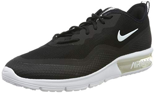 Nike Wmns Air Max Sequent 4.5, Scarpe da Atletica Leggera Donna, Nero (Black/White 000), 36.5 EU