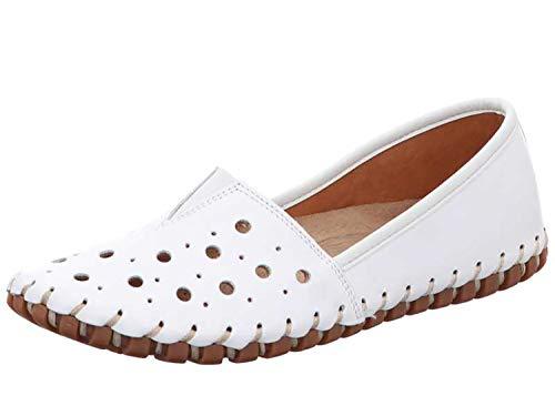 Gemini Damen Slipper 031223-02/001 weiß 582092