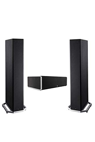 Fantastic Deal! Definitive Technology BP9020 & CS9040 - 2 Floor Standing Speakers (3.5 Drivers) Plu...