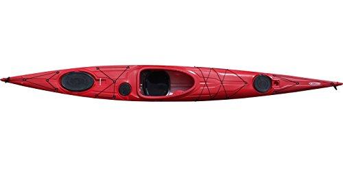 Tahe Marine Oceanspirit PE Seekajak Tourenkajak viel Stauraum mit Ruder und Skeg, Farbe:Grün, Ausstattung:Mit Skeg/Ruder