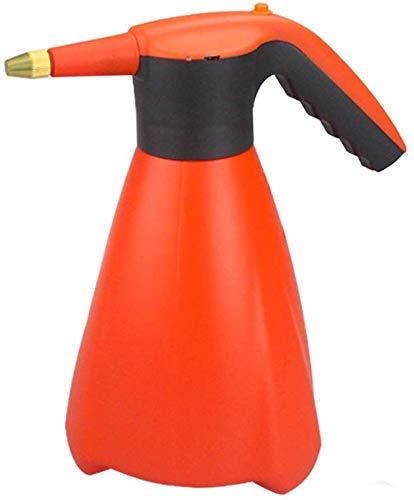 Dljyy multifunctionele elektrische druksproeier voor tuin, gieter, gieter, kleine fles voor hogedrukspuitfles met grote inhoud 1,6 l, voor kinderen, gieter (kleur: oranje1), Oranje