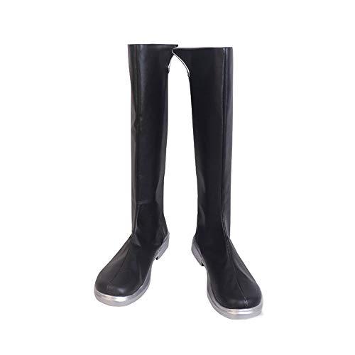 RainbowCos0 Cosplay Shoes Xehanort Long Boots Anime Halloween Props (24.5CM)
