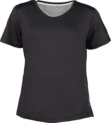 York Natalie 2020 T-shirt à manches courtes pour femme Noir, Noir , 46 (EU)